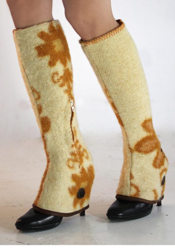 autumn gaiter woolen blanket