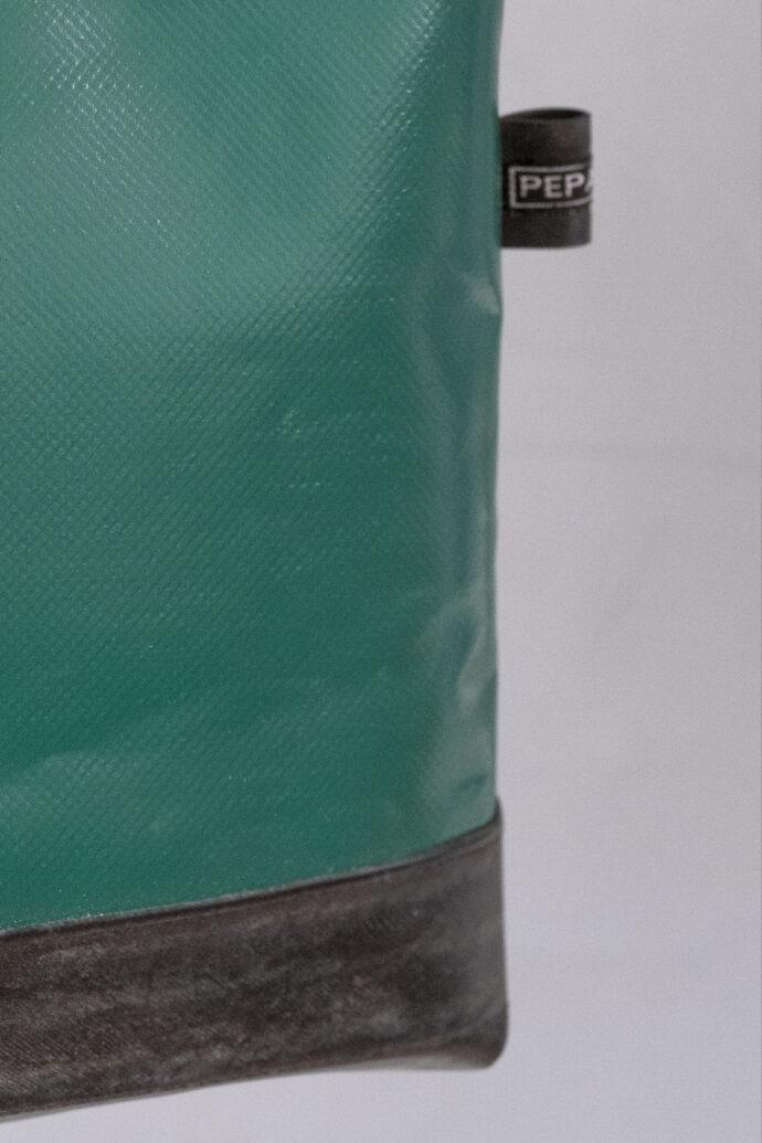 truck tarp mini shopper bag
