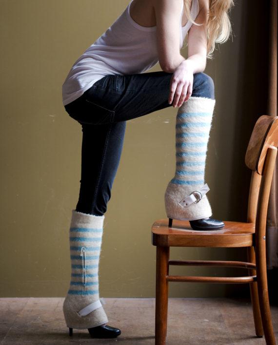 jennifer blue stripes