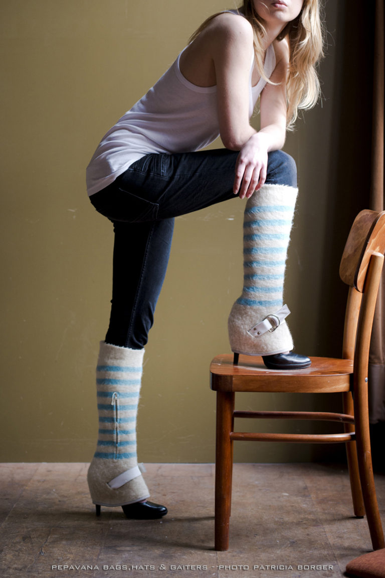 chaps blue striped
