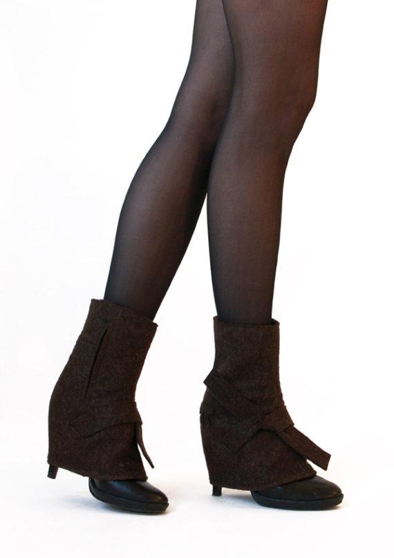 ankle-high edie chocolate