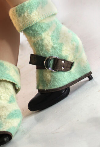 blanke green for high heels