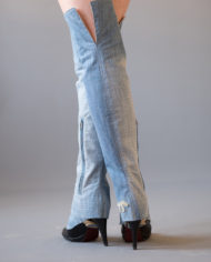 over the knee, jean Jane