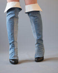 long jean gaiters by pepavana