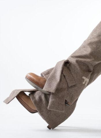 brown tweed edie