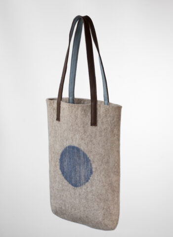 Mini Shopper Bag Artisan blue sky