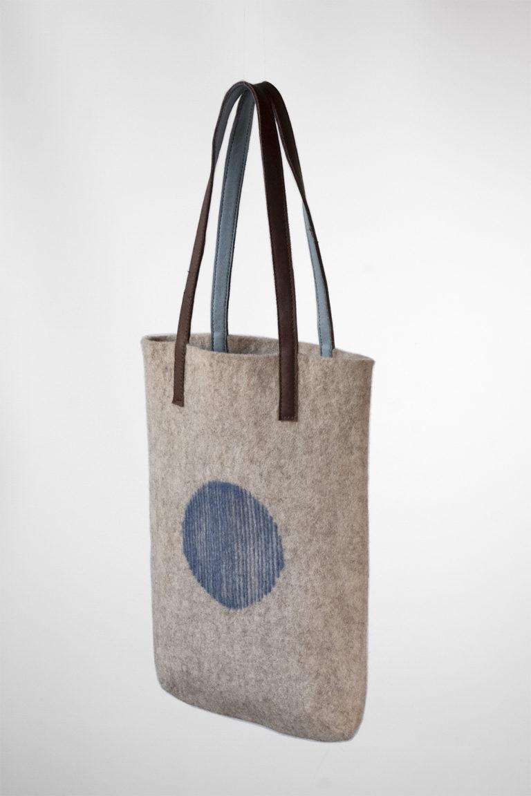 Mini Shopper Bag Artisan blue sky