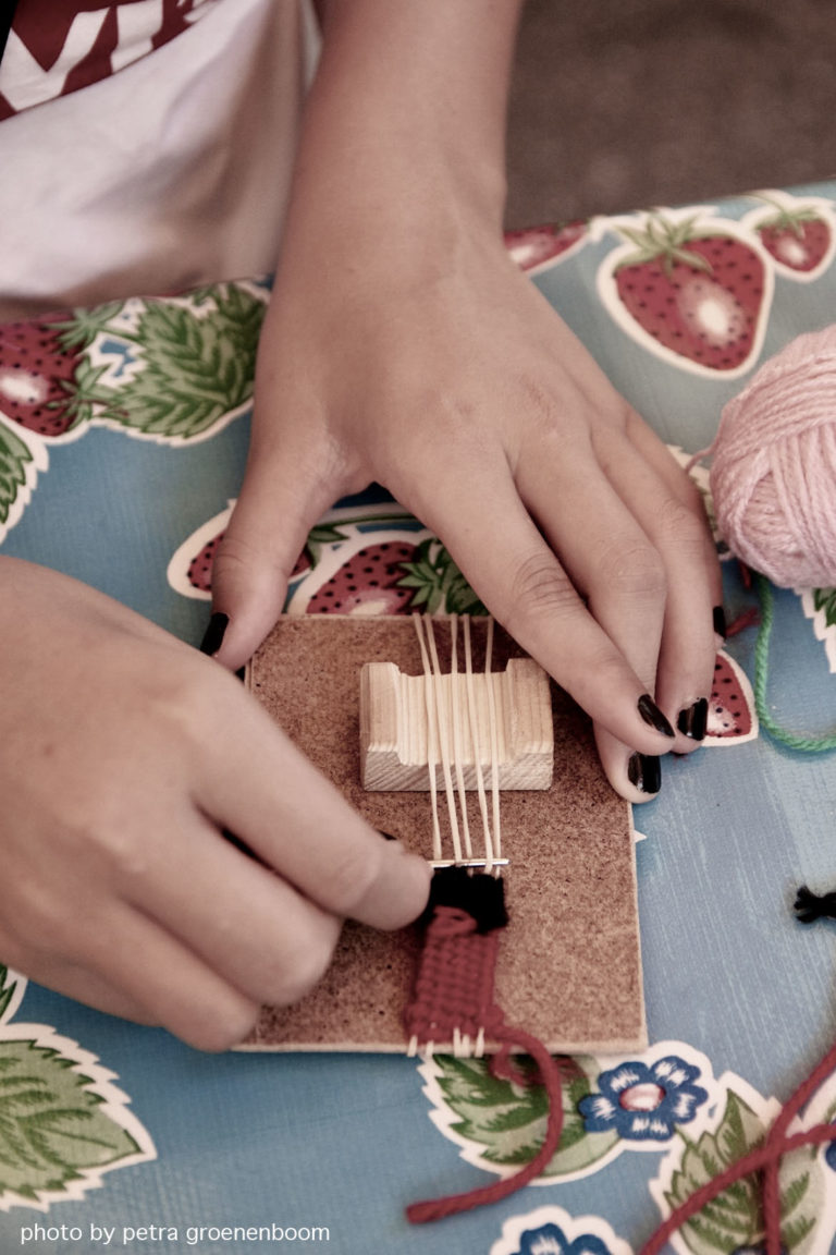 loom and needle