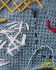 embroider stitches