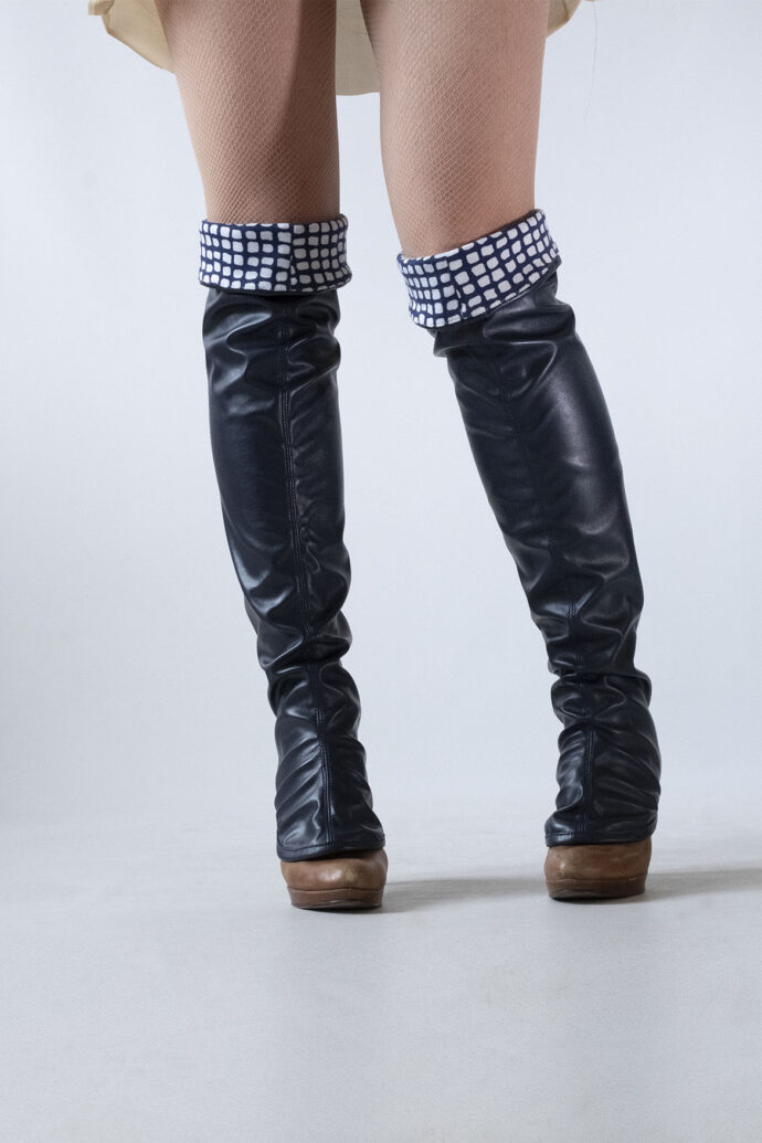 over-the-knee gaiters