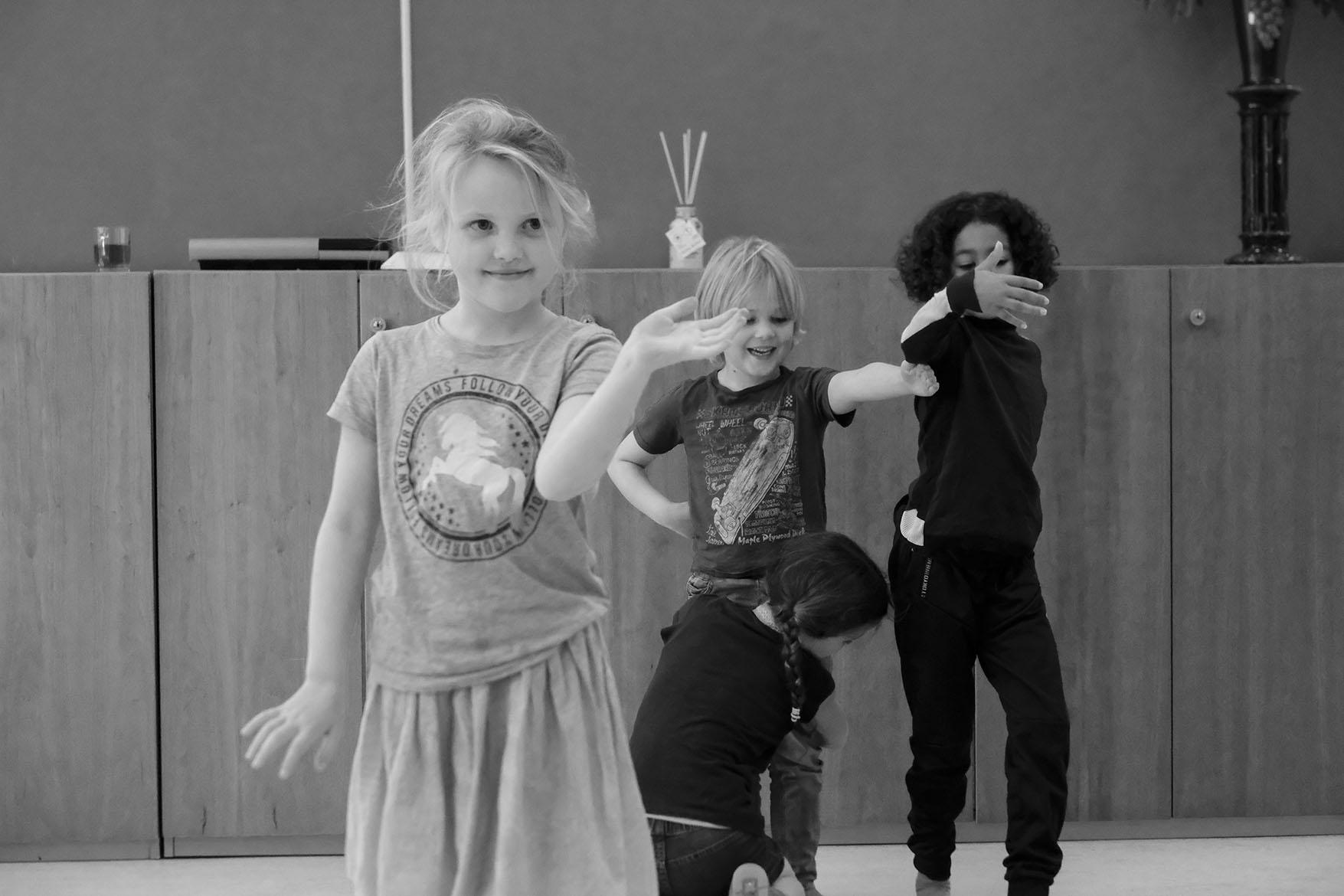 acting class, Vreewijk, moving statue summerschool