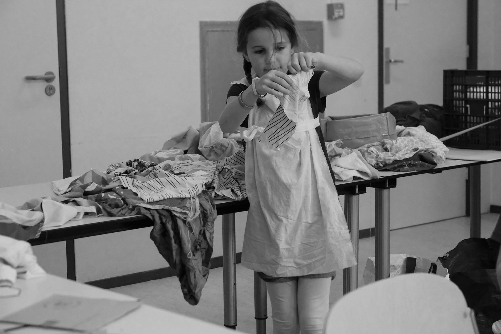design class, Vreewijk, moving statue summerschool
